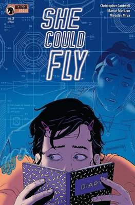 She Could Fly (Comic book 32 pp) #3