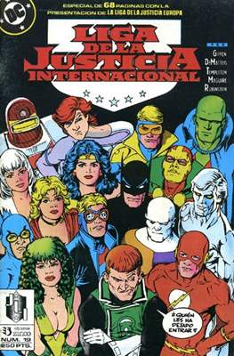 Liga de la Justicia / Liga de la Justicia internacional / Liga de la Justicia de America (1988-1992) (Grapa) #19