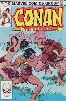 Conan The Barbarian (1970-1993) (Comic Book 32 pp) #142