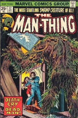 The Man-Thing Vol. 1 (1974-1975) (Comic Book) #12