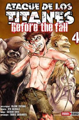 Ataque de los Titanes: Before the Fall (Rústica) #4