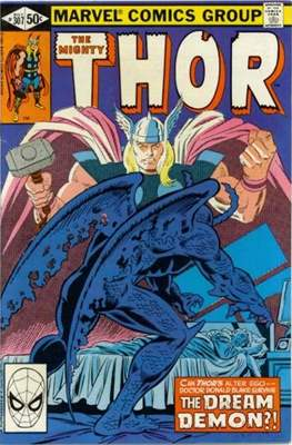 Journey into Mystery / Thor Vol 1 (Comic Book) #307