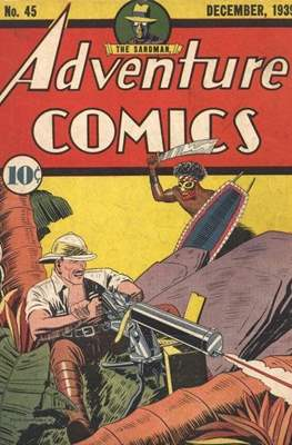 New Comics / New Adventure Comics / Adventure Comics (1935-1983; 2009-2011) (Saddle-Stitched) #45