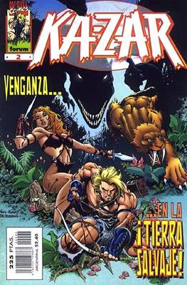 Ka-Zar (1998-1999) (Grapa. 17x26. 24 páginas. Color.) #2