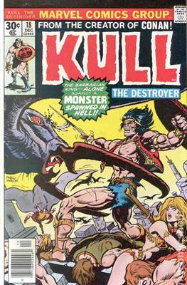Kull the Conqueror / Kull the Destroyer (1971-1978) (comic-book) #18