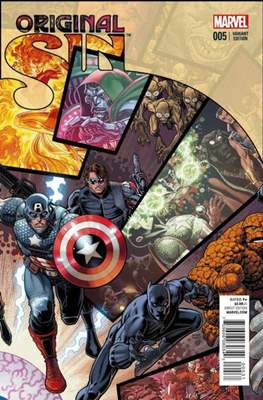 Original Sin (Variant Covers) (Comic Book) #5.3
