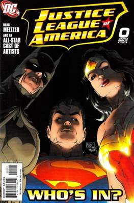 Justice League of America Vol. 2 (2006-2011) (Comic Book) #0