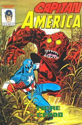 Capitán América Vol. 4 (1981-1982) (Grapa) #8