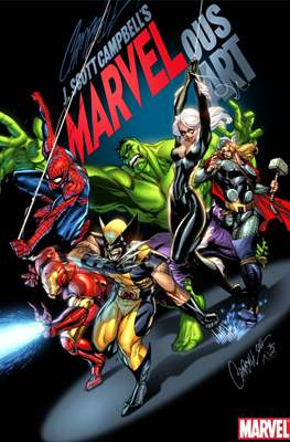 J. Scott Campbell's Marvelous Art (Hardcover) #1