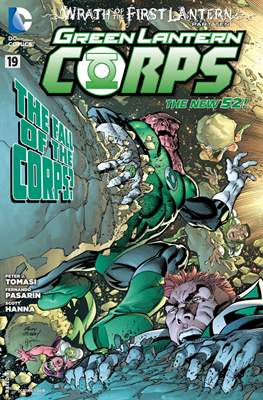 Green Lantern Corps Vol. 3 (2011-2015) #19