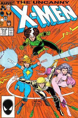 The Uncanny X-Men (1963-2011) (Comic-Book) #218