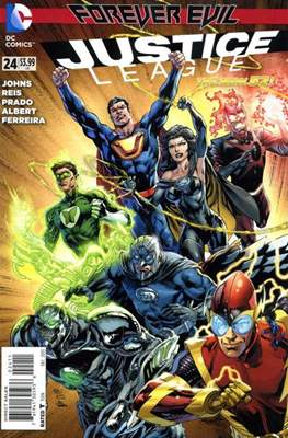 Justice League Vol. 2 (2011-2016) (Comic-Book) #24