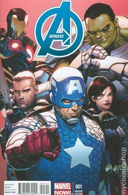 Avengers Vol. 5 (2013-2015 Variant Covers) #1.1