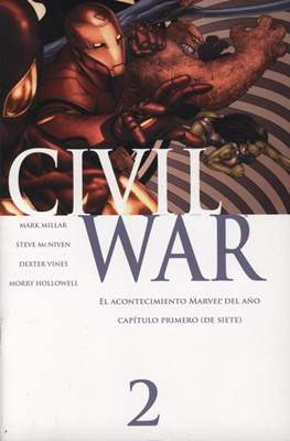 Civil War (2007) (Grapa) #2