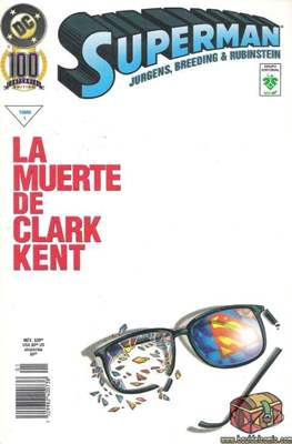 Superman. La muerte de Clark Kent (Rústica) #1