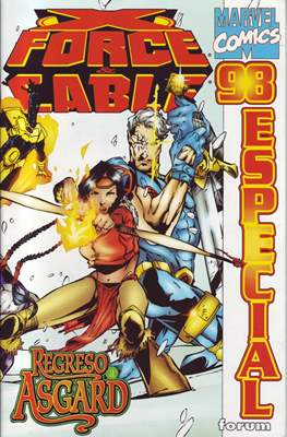 X-Force Vol. 2 y Cable Especiales (1996-1998) (Grapa 56 pp) #3