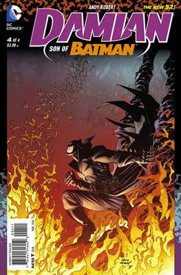 Damian: Son of Batman (2013-2014) (Comic Book) #4