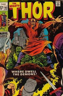 Journey into Mystery / Thor Vol 1 (Comic Book) #163