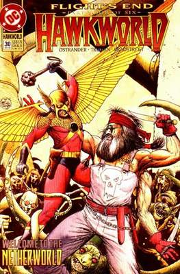 Hawkworld (Comic Book) #30