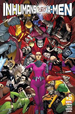 Inhumans vs. X-Men (Comic-Book) #5
