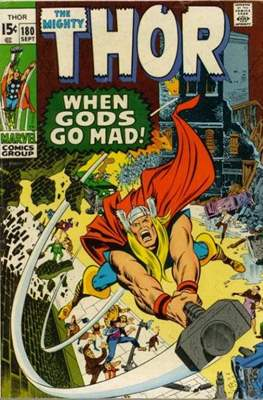 Journey into Mystery / Thor Vol 1 (Comic Book) #180