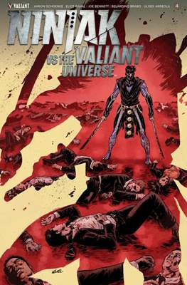 Ninjak vs The Valiant Universe (Comic Book) #4
