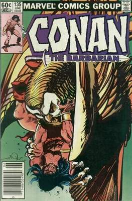 Conan The Barbarian (1970-1993) (Comic Book 32 pp) #135