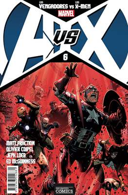 AvsX: Vengadores vs X-Men #6