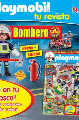 Playmobil (Grapa, 36 páginas, color) #40