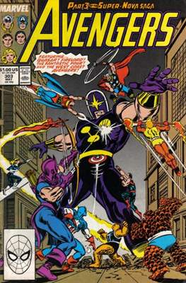 The Avengers Vol. 1 (1963-1996) (Grapa) #303
