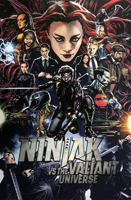 Ninjak vs The Valiant Universe #1