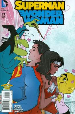Superman / Wonder Woman (2013-2016 Variant Covers) (Comic Book) #23