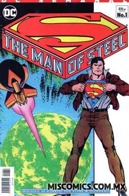Superman The Man of Steel - DC Semanal #1
