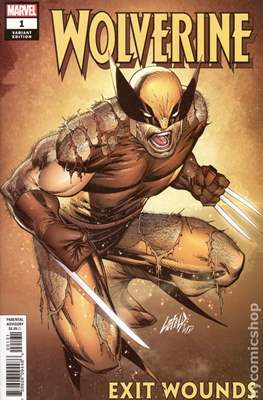 Wolverine: Exit Wounds (Variant Cover) (Comic Book) #1.1