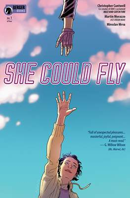 She Could Fly (Comic book 32 pp) #1