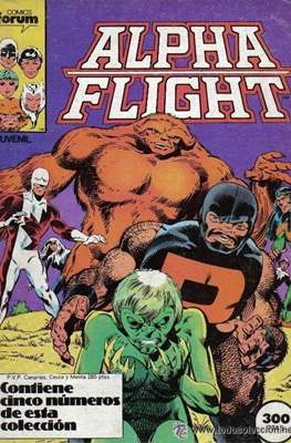 Alpha Flight (Vol. 1) (Retapado Rústica) #0