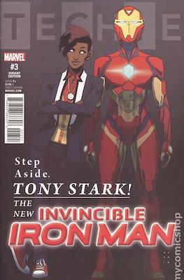 Invincible Iron Man (Vol. 3 2017-2018 Variant Cover) #3