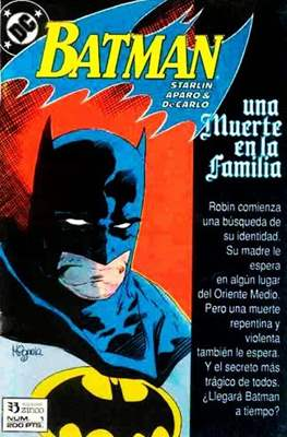 Batman. Una Muerte en la Familia (Grapa) #1