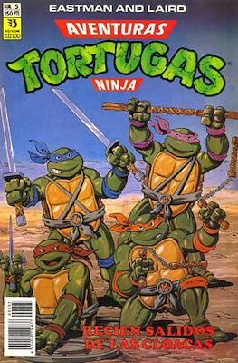 Aventuras Tortugas Ninja (Grapa) #5