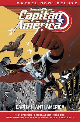 Capitán América de Nick Spencer. Marvel Now! Deluxe (Cartoné) #1