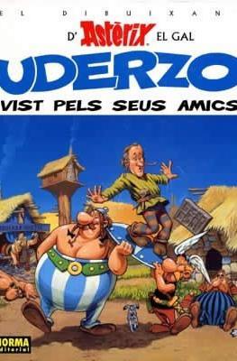 El dibuixant d'Asterix el gal Uderzo vist pels seus amics