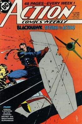Action Comics Vol. 1 (1938-2011; 2016-) (Comic Book) #628
