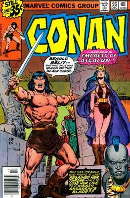 Conan The Barbarian (1970-1993) (Comic Book 32 pp) #93