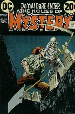 The House of Mystery (Grapa) #209