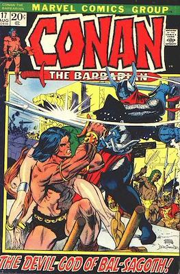 Conan The Barbarian (1970-1993) (Grapa, 32 págs.) #17
