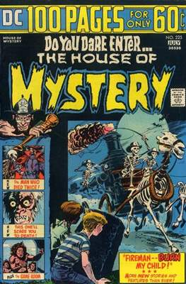 The House of Mystery (Grapa) #225