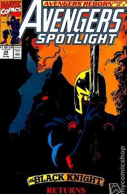 Solo Avengers / Avengers Spotlight (Comic book) #39