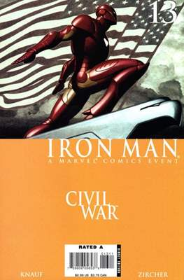 Iron Man Vol. 4 (2005-2009) (Comic Book) #13