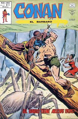Conan el Bárbaro Vol. 2 (Grapa) #34