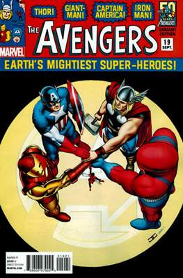 Avengers Vol. 5 (2013-2015 Variant Covers) (Comic Book) #19